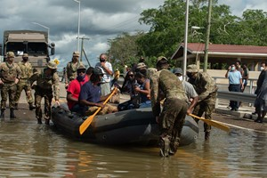 British Army assists Belize with disaster relief in the wake of Hurricane Eta