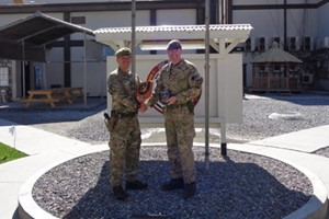 Welsh Guards assume security responsibility in Afghanistan