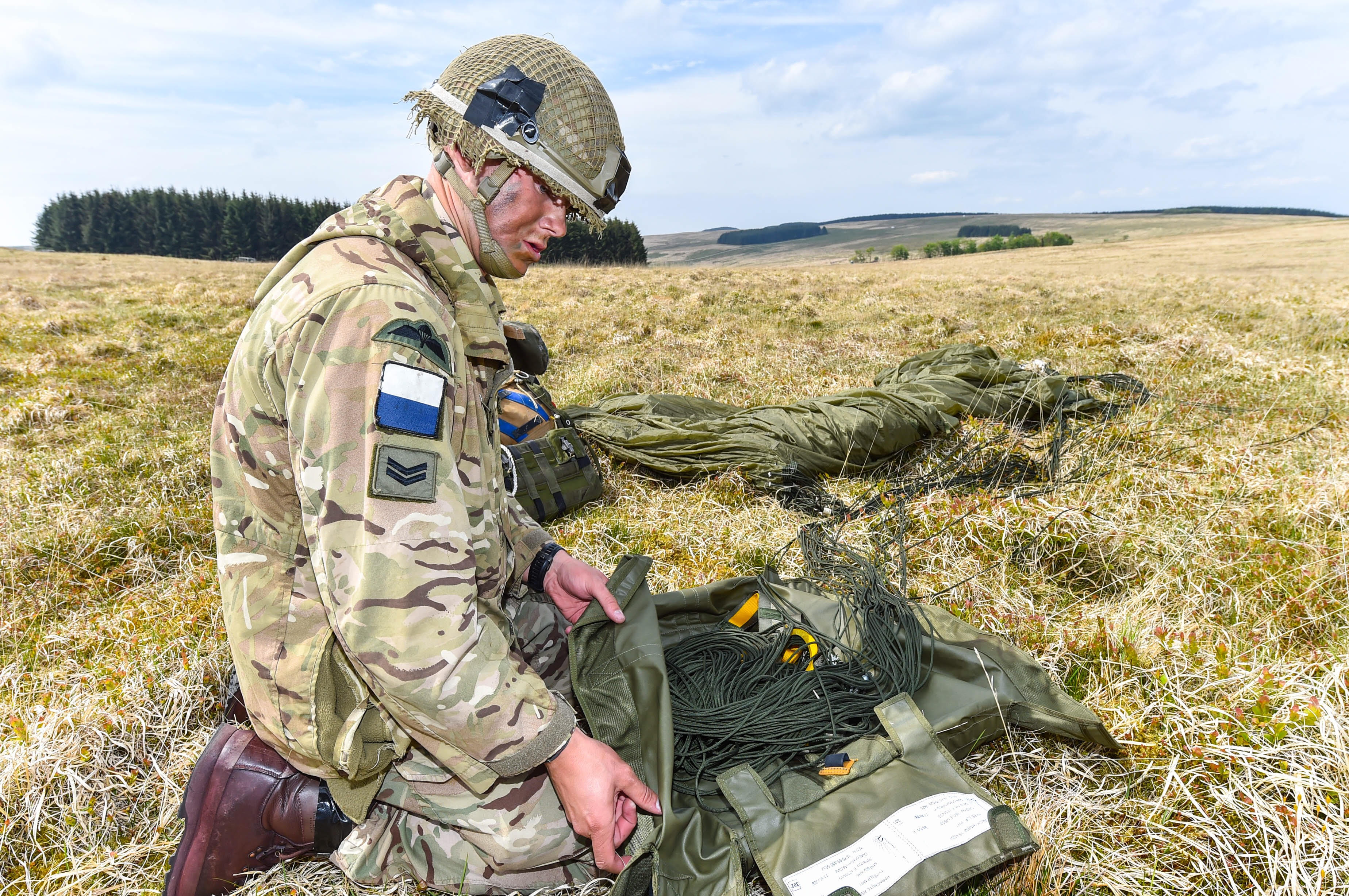Airborne Signallers tested on soldiering competition | The ...