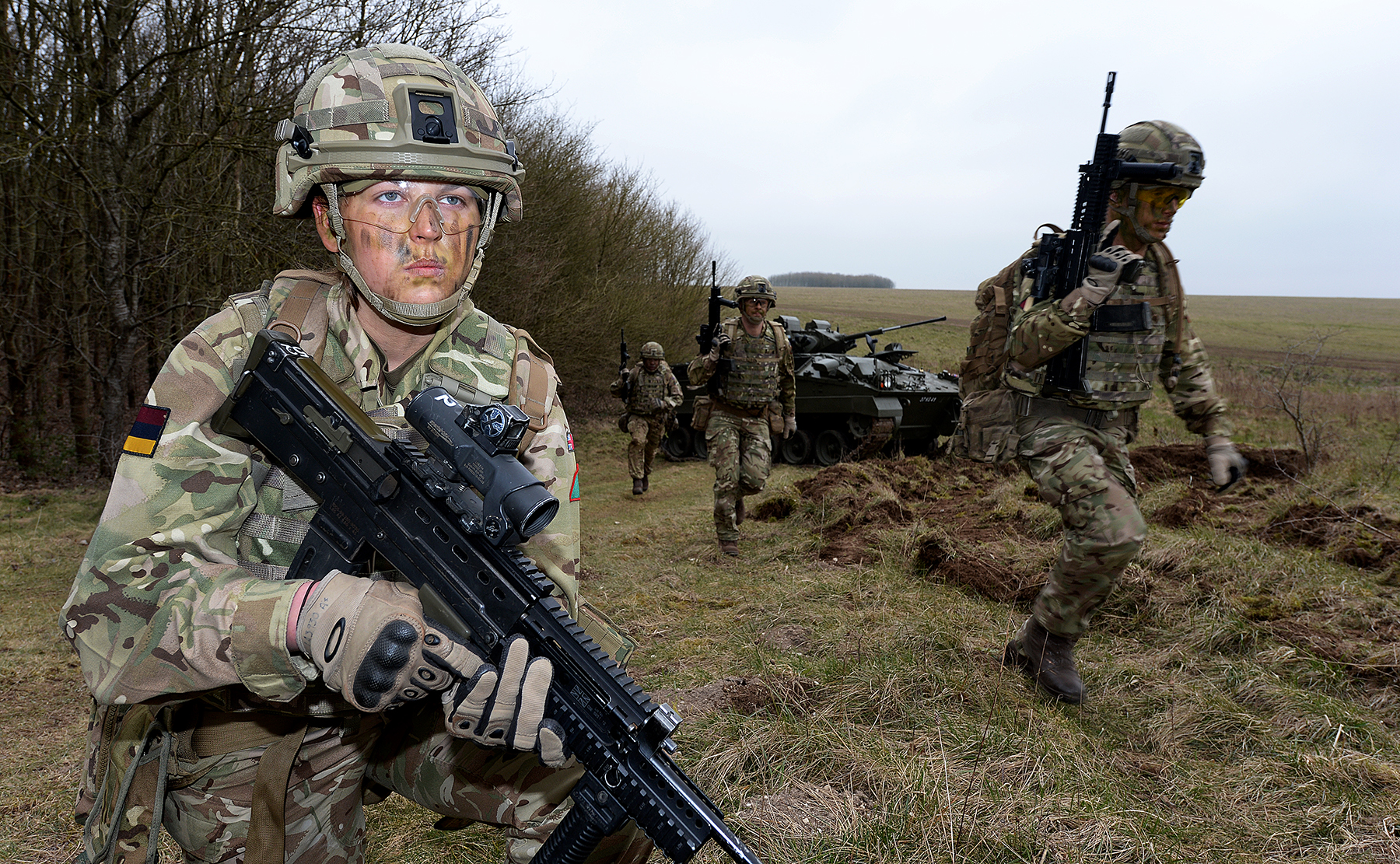 All British Armed Forces Roles Now Open To Women The