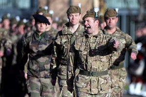 Scottish soldiers receive operational medals