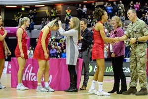 British Army joins forces with England Netball
