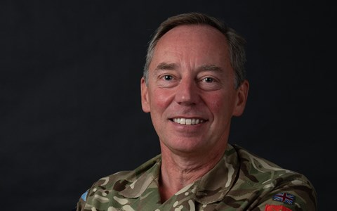 Deputy Chief of the General Staff, Maj Gen CL Tickell
